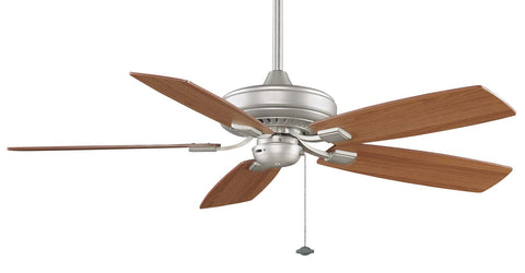 Fanimation - TF610SN - 52``Ceiling Fan - Edgewood Decorative - Satin Nickel