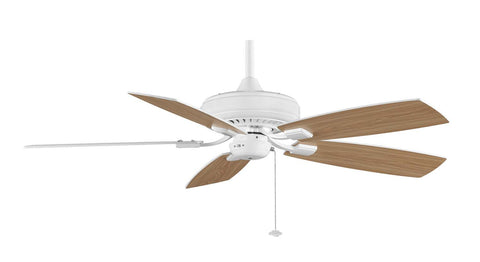 "Fanimation - TF610WH - 52"" Ceiling Fan - Edgewood Decorative - White"