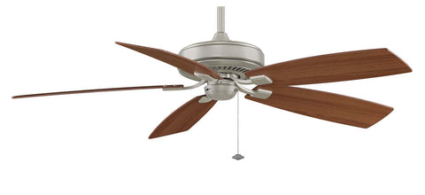 "Fanimation - TF710SN - 60"" Ceiling Fan - Edgewood Deluxe - Satin Nickel"