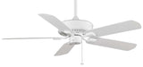 "Fanimation - TF910WH - 50"" Ceiling Fan - Edgewood Wet - White"