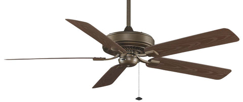 "Fanimation - TF971AZ - 60"" Ceiling Fan - Edgewood Deluxe Wet - Aged Bronze"