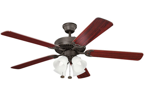 Kichler - 402SNB - 52``Ceiling Fan - Basics - Satin Natural Bronze