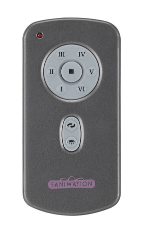 Fanimation - TR29 - Hand Held DC Motor Remote and Transmitter - Controls - Gray