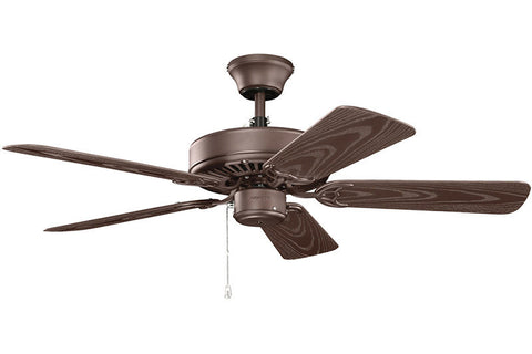 "Kichler - 414SNB - 42"" Ceiling Fan - Basics - Satin Natural Bronze"