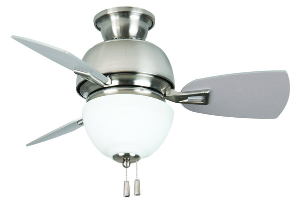 Craftmade - DA30SS3 - 30`` Ceiling Fan with Blades Included - Dane - Stainless Steel