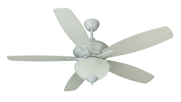"Craftmade - CN52W5 - 52"" Ceiling Fan with Blades Included - Copeland - White"