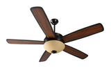 "Craftmade - LY52OB5 - 52"" Ceiling Fan with Blades Included - Layton - Oiled Bronze"