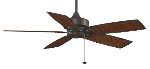 Fanimation - FP8012OB - 52``Ceiling Fan - Cancun Wet - Oil-Rubbed Bronze