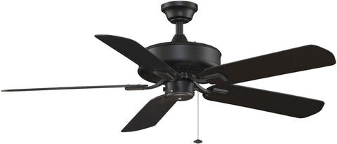 Fanimation - TF910BL - 50``Ceiling Fan - Edgewood Wet - Black