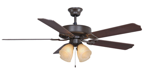 Fanimation - BP210OB1 - 52``Ceiling Fan - Aire Decor 4 LK - Oil-Rubbed Bronze
