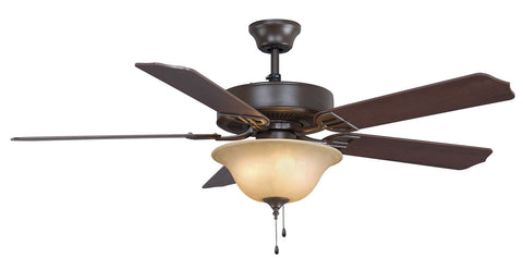 Fanimation - BP220OB1 - 52``Ceiling Fan - Aire Decor Bowl - Oil-Rubbed Bronze