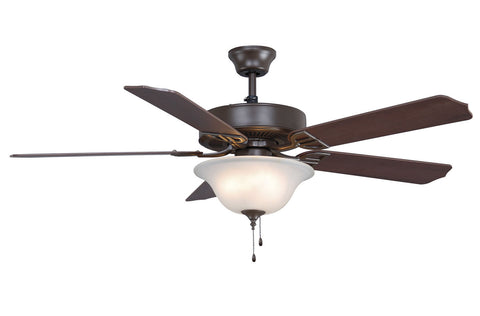 Fanimation - BP225OB1 - 52``Ceiling Fan - Aire Decor Bowl - Oil-Rubbed Bronze