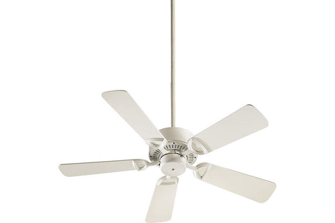 "Quorum 43425-67 42"" Estate Ceiling Fan in Antique White"