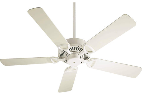 "Quorum 43525-67 52"" Estate Ceiling Fan in Antique White"