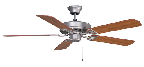 Fanimation - BP230SN1 - 52``Ceiling Fan - Aire Decor Damp - Satin Nickel