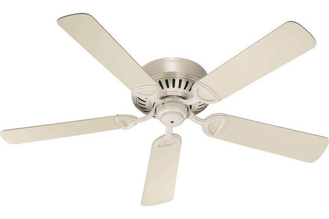 "Quorum 51525-67 52"" Medallion Ceiling Fan in Antique White"