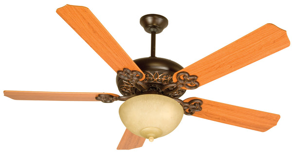 "Craftmade - CCU52OBG - 52"" Ceiling Fan - Blades Sold Separately - Cecilia Unipack - Oiled Bronze Gilded"