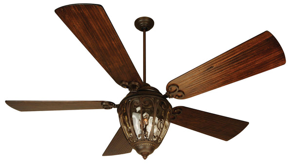 "Craftmade - OV70AG - 70"" Ceiling Fan - Blades Sold Separately - Olivier - Aged Bronze Textured"