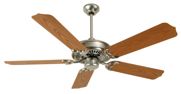 "Craftmade - PF52GV - 52"" Ceiling Fan - Blades Sold Separately - Porch Fan - Galvanized"
