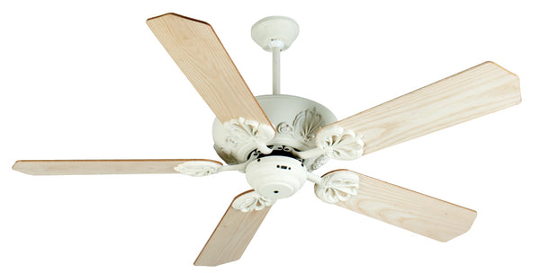 "Craftmade - K10908 - 52"" Ceiling Fan Motor with Blades Included - Cordova - Antique White"