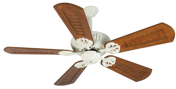 "Craftmade - K10912 - 52"" Ceiling Fan Motor with Blades Included - Cordova - Antique White"