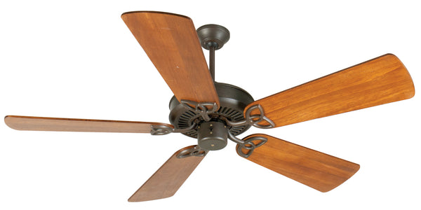 "Craftmade - K10934 - 52"" Ceiling Fan Motor with Blades Included - CXL - Aged Bronze Textured"