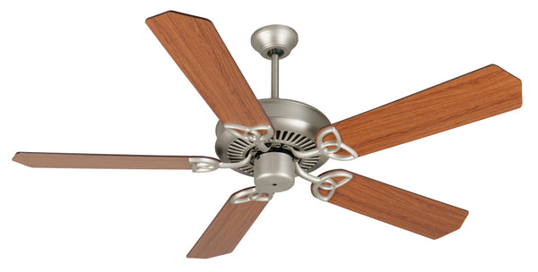 "Craftmade - K10943 - 52"" Ceiling Fan Motor with Blades Included - CXL - Brushed Satin Nickel"