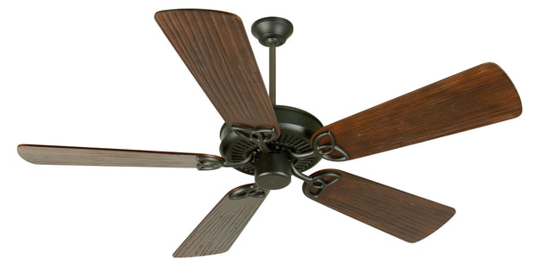 "Craftmade - K10959 - 52"" Ceiling Fan Motor with Blades Included - CXL - Flat Black"