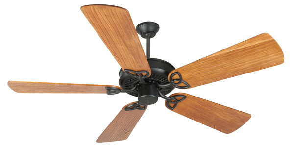 "Craftmade - K10961 - 52"" Ceiling Fan Motor with Blades Included - CXL - Flat Black"