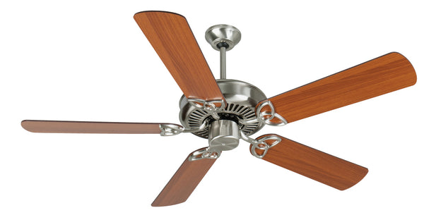 "Craftmade - K10984 - 52"" Ceiling Fan Motor with Blades Included - CXL - Stainless Steel"