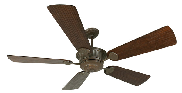 "Craftmade - K10993 - 70"" Ceiling Fan Motor with Blades Included - DC Epic - Aged Bronze Textured"