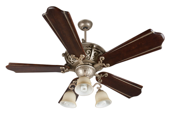 "Craftmade - K11013 - 52"" Ceiling Fan Motor with Blades Included - Toscana - Athenian Obol"
