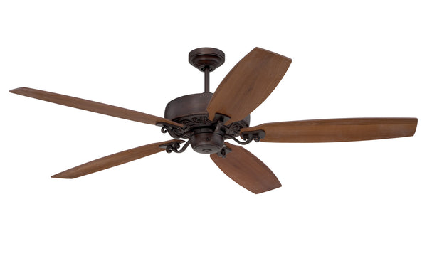 "Craftmade - PAT64ABZC5 - 64"" Ceiling Fan with Blades Included - Patterson - Aged Bronze Highlight"