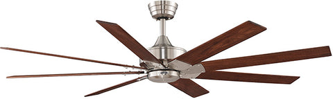 Fanimation - FP7910BN - 63``Ceiling Fan - Levon AC - Brushed Nickel
