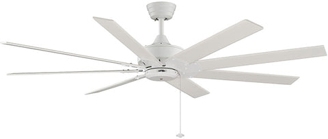"Fanimation - FP7910MW - 63"" Ceiling Fan - Levon AC - Matte White"