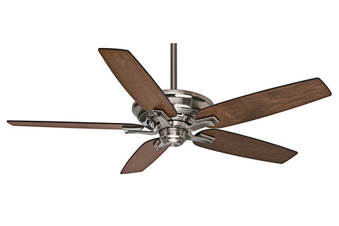 Casablanca Academy 54084 in Brushed Nickel - Shown with Smoked Walnut Blades (Sold Separately).