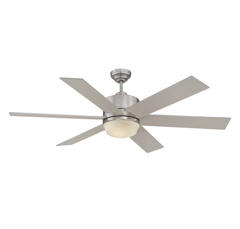 Savoy House - 60-820-6SV-SN - 60``Ceiling Fan - Velocity