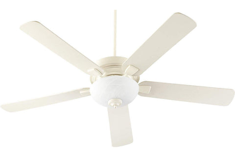 "Quorum 55605-67 60"" Vanderbilt Ceiling Fan in Antique White"