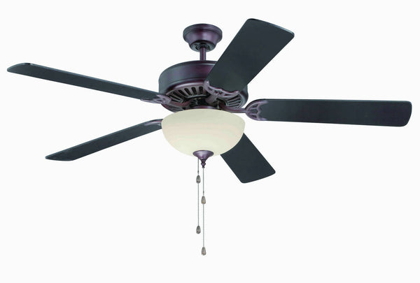 "Craftmade - C202OB - 52"" Ceiling Fan - Blades Sold Separately - Pro Builder 202 - Oiled Bronze"