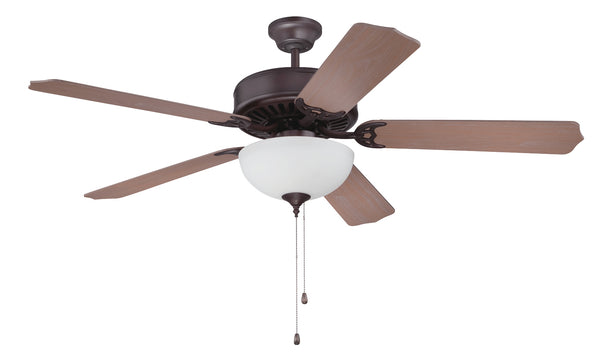"Craftmade - C207OB - 52"" Ceiling Fan - Blades Sold Separately - Pro Builder 207 - Oiled Bronze"