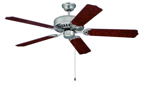 "Craftmade - C52BN - 52"" Ceiling Fan - Blades Sold Separately - Pro Builder - Brushed Satin Nickel"