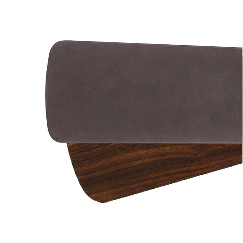 Quorum Fan Blades from the Fan Blades collection in Toasted Sienna / Walnut finish