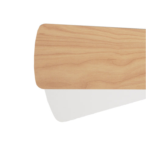 Quorum Fan Blades from the Fan Blades collection in Maple / Studio White finish