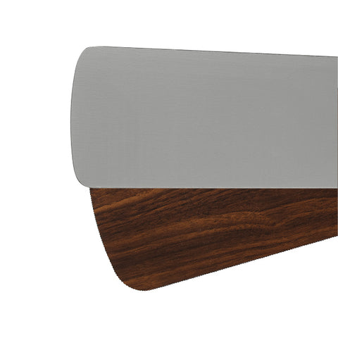 Quorum Fan Blades from the Fan Blades collection in Antique Silver / Walnut finish
