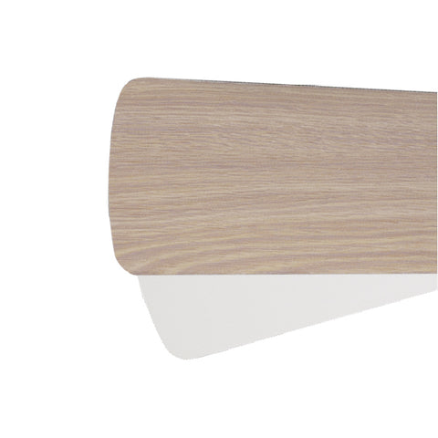 Quorum Fan Blades from the Fan Blades collection in Washed Oak / White finish