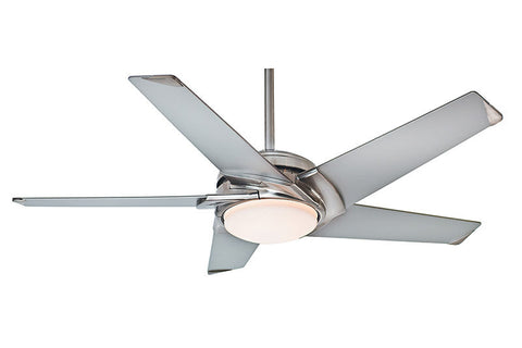 "Casablanca 59094 54"" Stealth in Brushed Nickel"