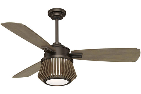"Casablanca Glen Arbor - 56"" Ceiling Fan in Metallic Chocolate ‰ۡóÁÌÎ?ÌÎ? 4 speed handheld remote control included"