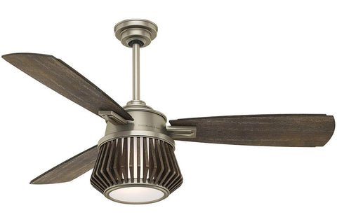 "Casablanca Glen Arbor - 56"" Ceiling Fan in Metallic Birch ‰ۡóÁÌÎ?ÌÎ? 4 speed handheld remote control included"