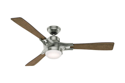 "Hunter Signal - 54"" Ceiling Fan in Satin Nickel"