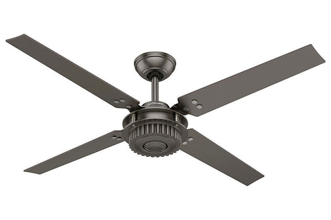 "Hunter Chronicle - 54"" Ceiling Fan in Brushed Slate"